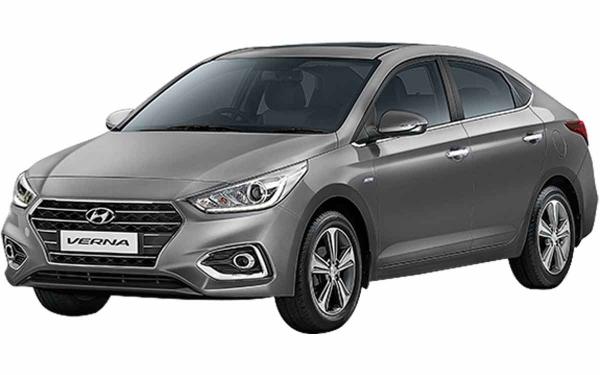 Hyundai Verna Exterior Front Side View