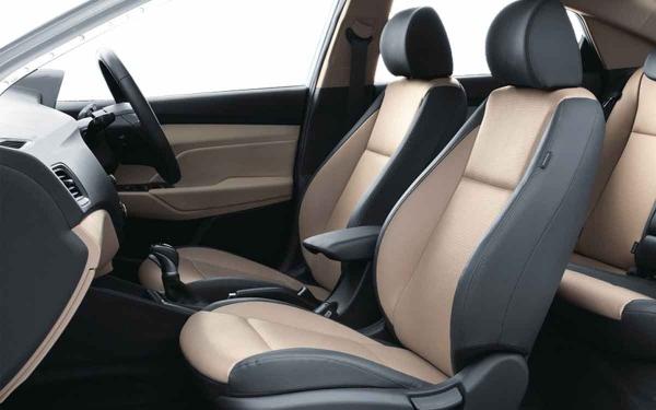 Hyundai Verna Interior Front Side View