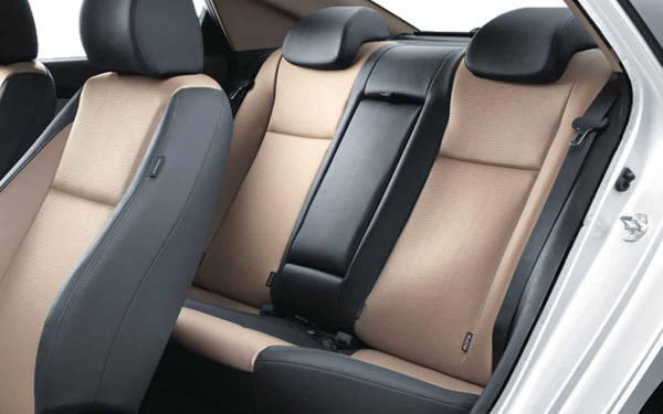 Hyundai Verna Interior Rear Side View