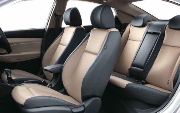 Hyundai Verna Interior Side View