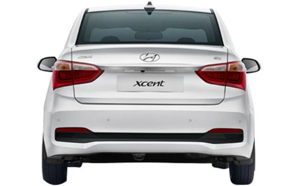 Hyundai Xcent Exterior Rear View