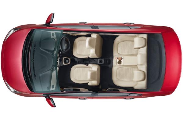 Hyundai Xcent Interior Top View