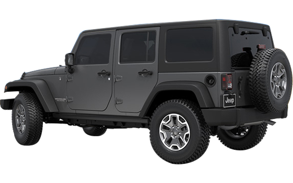The exterior appearance of Jeep Wrangler Photo 3