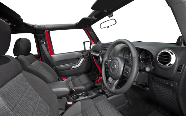 Jeep Wrangler – the interior Photo 1