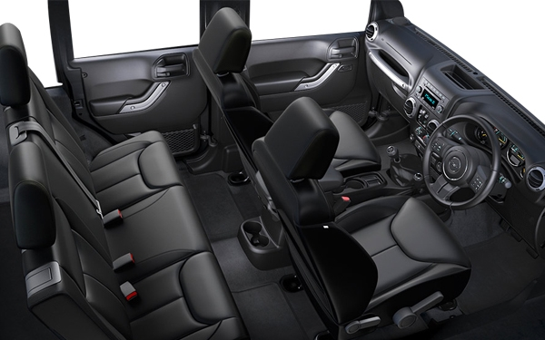 Jeep Wrangler – the interior Photo 0