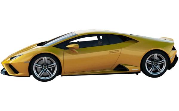 Lamborghini Huracan Evo RWD Side View