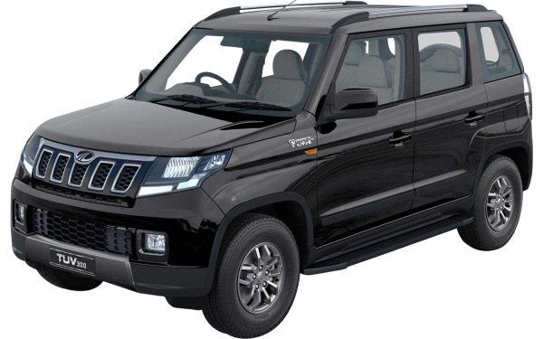 Mahindra TUV300 Exterior Front Side View