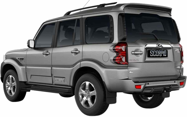 Mahindra Scorpio Exterior Rear Side View