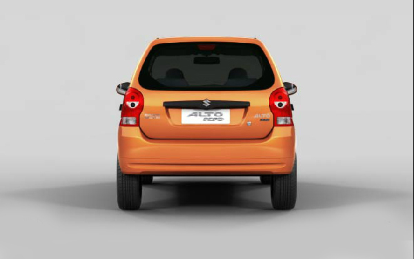 Maruti Alto K10 back view