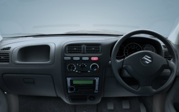 Maruti Alto K10 dashboard view