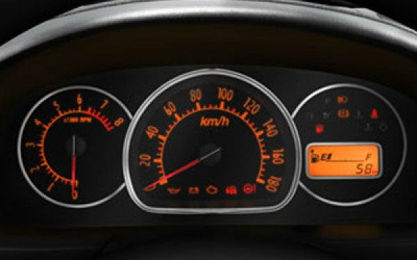 Maruti Alto K10 instrument panel view