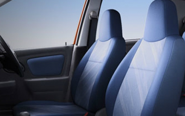 Maruti Alto K10 interior seating view