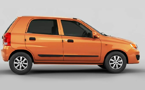 Maruti Alto K10 left view