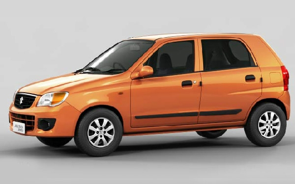 Maruti Alto K10 right view