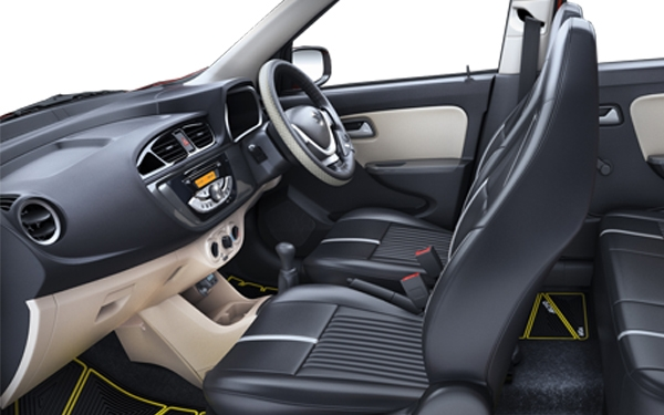 Maruti Suzuki Alto K10 Interior Front Side View