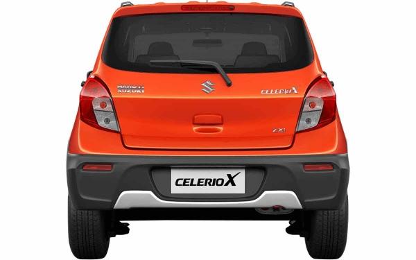 Maruti Suzuki Celerio-X Exterior Rear View