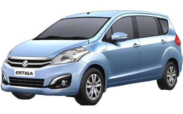Maruti Suzuki Ertiga Exterior Front Side View