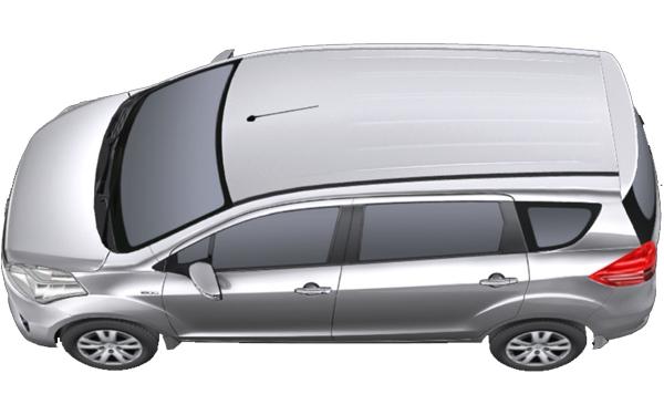 Maruti Suzuki Ertiga Exterior Top View