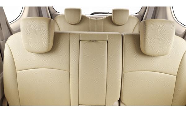 Maruti Suzuki  Ertiga Interior Rear View