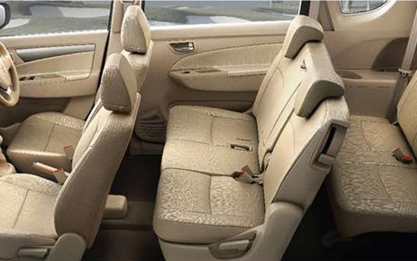 Maruti Suzuki Ertiga Interior Side View