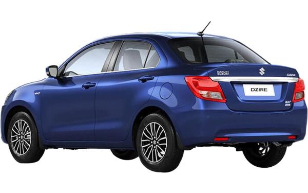 Maruti Suzuki Swift Dzire Exterior Rear Side  View