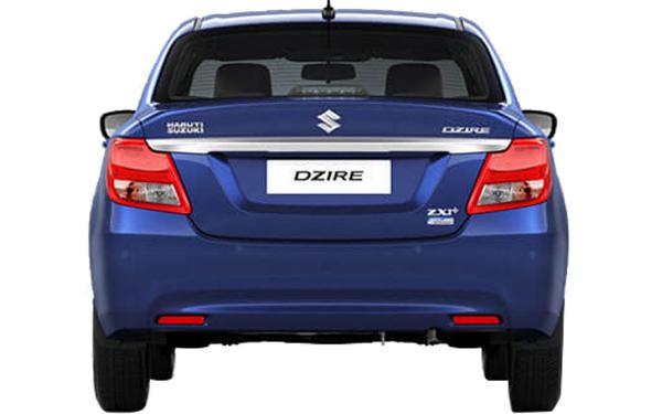 Maruti Suzuki Swift Dzire Exterior Rear View