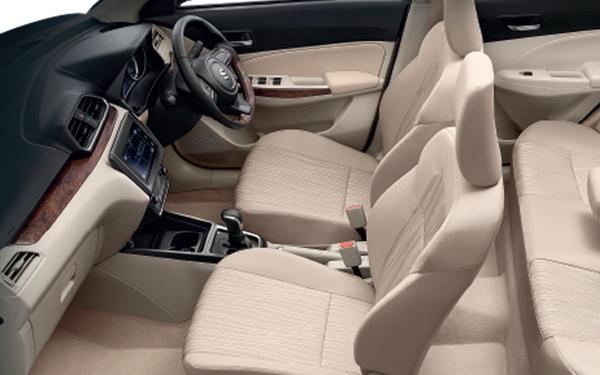 Maruti Suzuki Swift Dzire Interior Front Side View