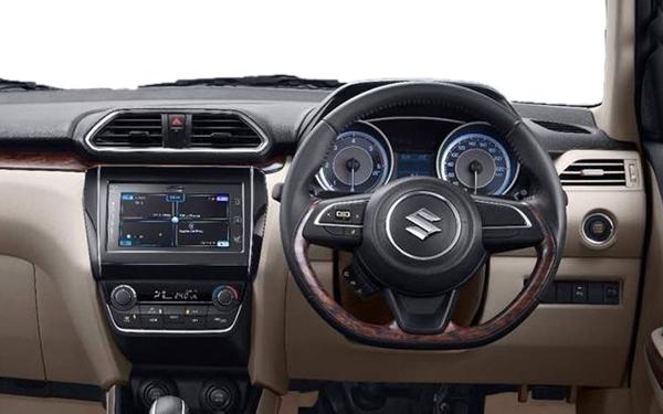 Maruti Suzuki Swift Dzire Interior Front View