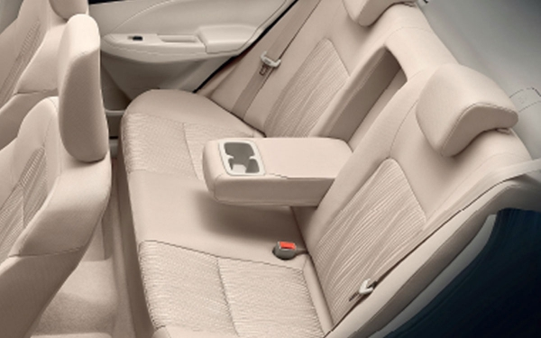 Maruti Suzuki Swift Dzire Interior Rear Side View
