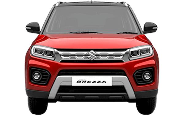 Maruti Suzuki Vitara Brezza Exterior Front View