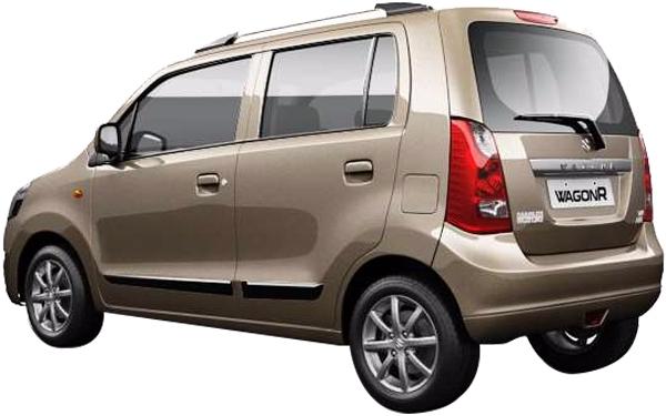 Maruti Suzuki Wagon R Exterior Rear Side View