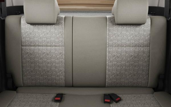 Maruti WagonR back seat