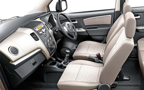 Maruti WagonR Interior Front Side View