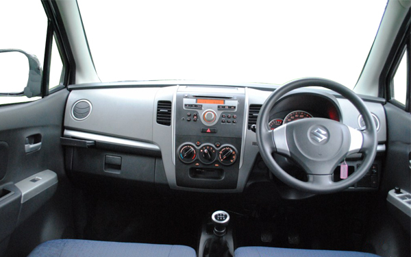 Maruti WagonR interior Front View