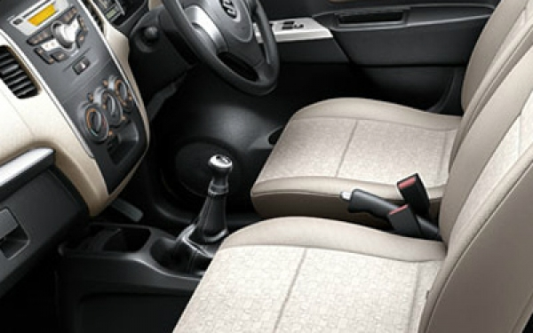 Maruti WagonR interior seating