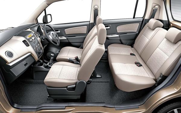 Maruti WagonR Interior Side View