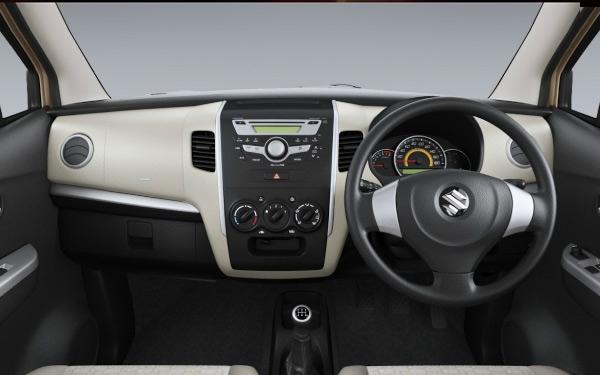 Maruti WagonR interior view