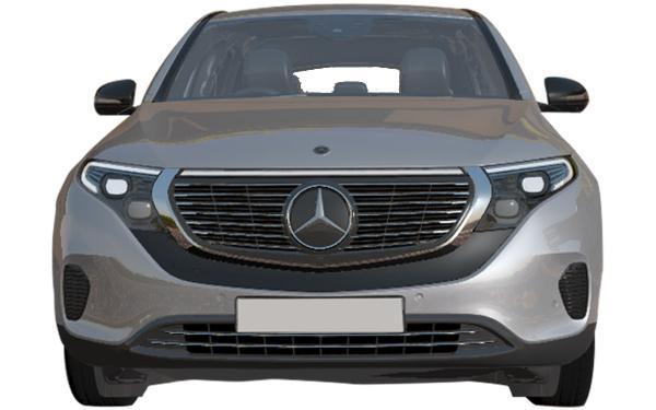 Mercedes Benz EQC Exterior Front View