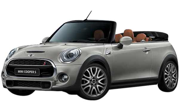 Mini Cooper Convertible Exterior Front Side View
