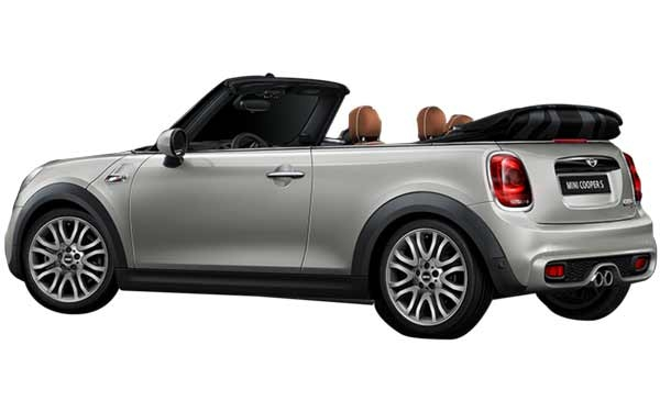 Mini Cooper Convertible Exterior Rear Side View