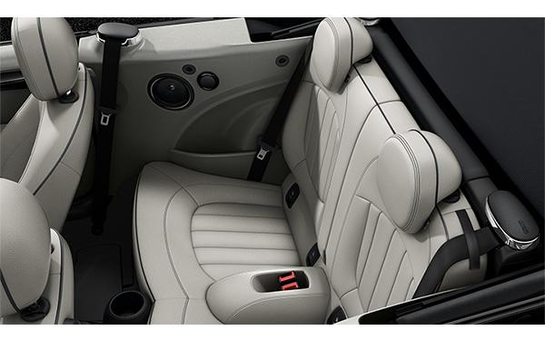 Mini Cooper Convertible Interior Rear Side View