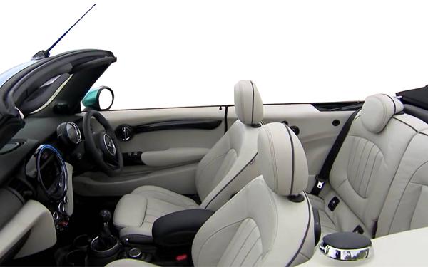 Mini Cooper Convertible Interior Side View