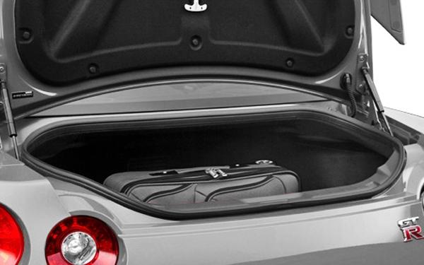 Nissan GTR boot view