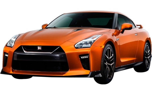 Nissan GTR Exterior Front Side View