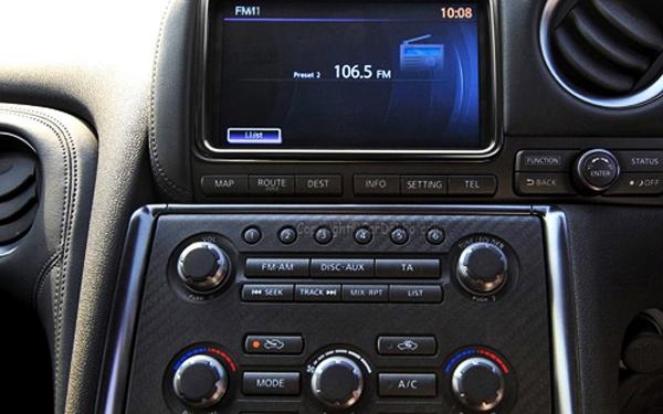 Nissan GTR music system