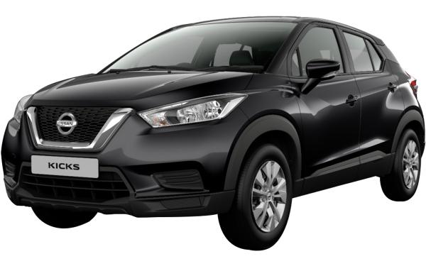 Nissan Kicks Exterior Front Side View (Night Shade)
