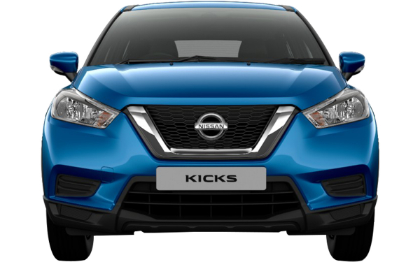 Nissan Kicks Exterior Front View