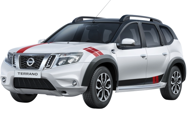 Nissan Terrano Sports Edition Front Side View