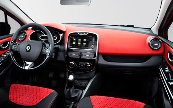 Renault Clio interior view