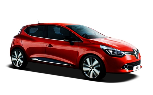 Renault Clio right angle view